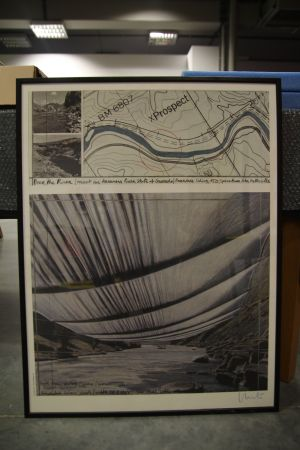 Christo & Jeanne-Claude, Over The River (Project for Arkansas River, State of Colorado)