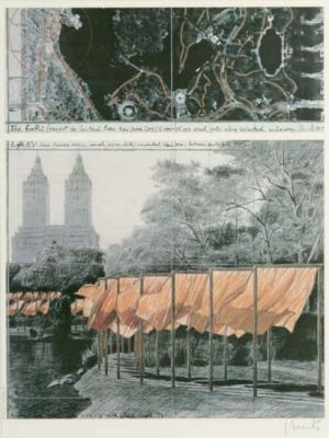 Christo & Jeanne-Claude, The Gates (Project for Central Park, New York City)
